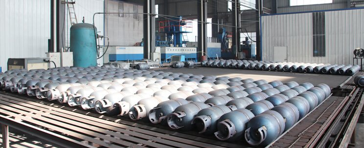 LPG gas cylinder production 2