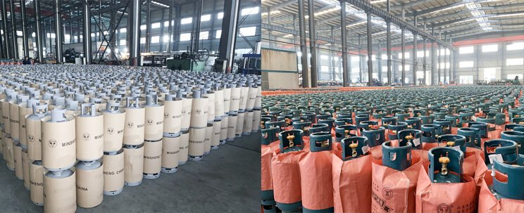 LPG gas cylinder production 4