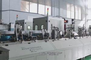 Automatic intelligent valve production line