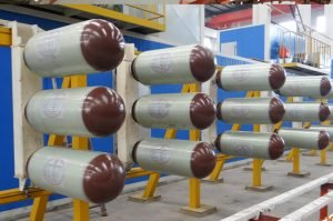 CNG cylinder productiona line