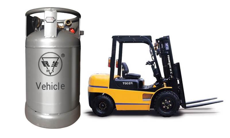 Forklift LPG Gas Cylinder For Vehicle