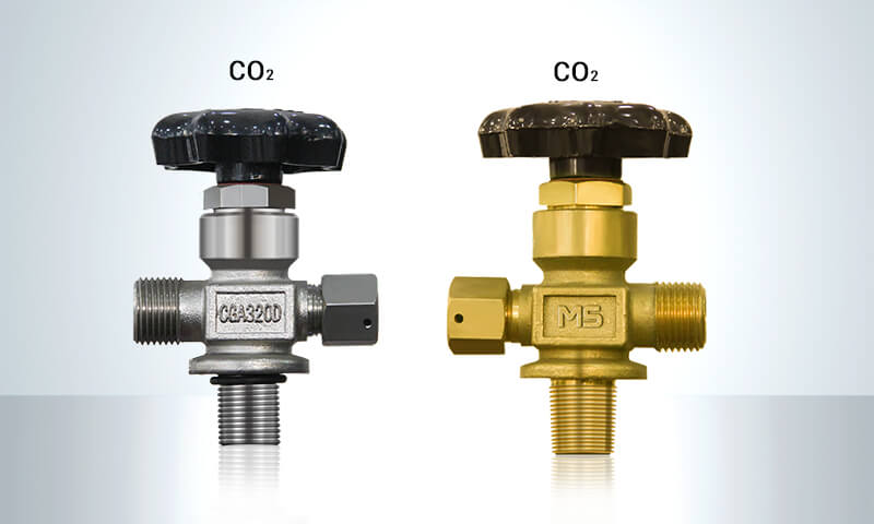 co2 cylinder valves