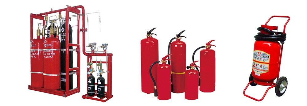 Firefighting Heptafluoropropane Cylinders -1