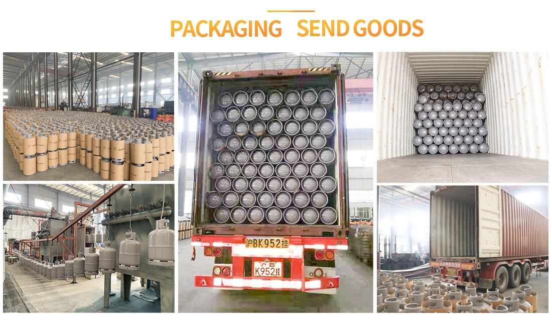 yemen gas cylinder packaging